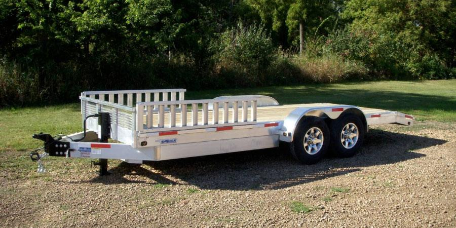 12,000 LBS Rated Ulility Trailers